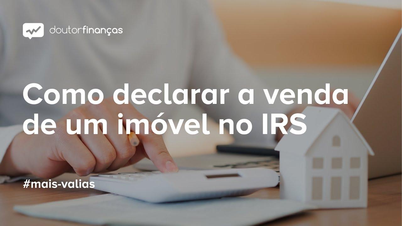 Imagem de um pc portátil com o Portal das Finanças aberto a propósito do IRS