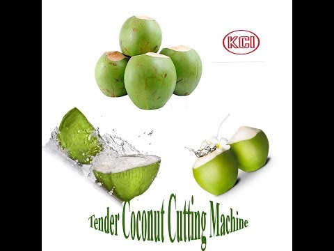Tender Coconut Cutting Machine