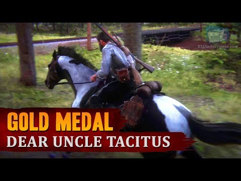 "Red Dead Redemption 2 - Mission #63 - Dear Uncle Tacitus (""May I? Stand Unshaken"") [Gold Medal]"