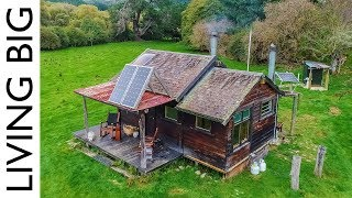 Off The Grid Cabin In New Zealand Paradise - Video Youtube