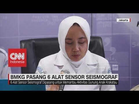 BMKG Pasang 6 Alat Sensor Seismograf