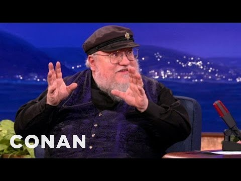 George R.R. Martin u Conana O'Briena