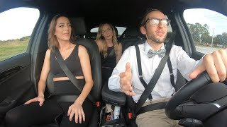 Nerd Uber Driver Raps For Gym Fitness Girls!