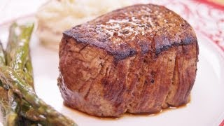Filet Mignon: Recipe: How To Cook: Perfect Filet Mignon: BEST:Pan/Oven:Di Kometa-Dishin With Di #45