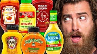 Testing Sriracha Condiments (Taste Test)