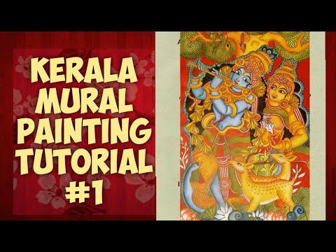 kerala mural painting tutorials by adarsha