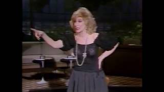 Joan Rivers Monologue Black Outfit
