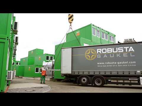 ConFlex - Baustellen-Container SICHER versetzen
