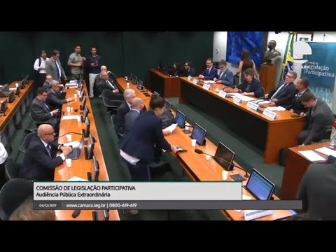 Legislação Participativa - Natureza Jurídica dos Conselhos Profissionais - 04/12/19 - 15:30