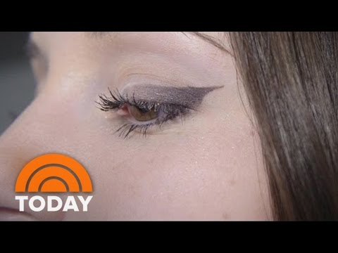 'Eyeliner Stencils' That Help You Perfect The Cat Eye | Test Drive| TODAY