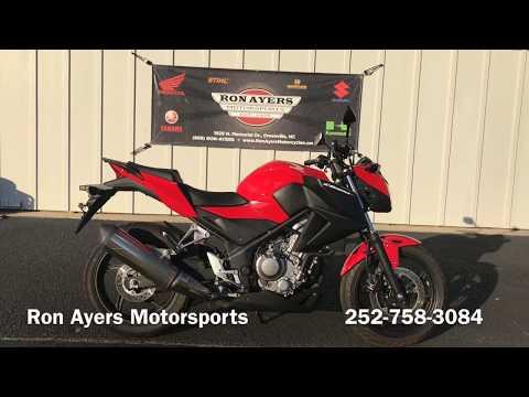 2015 Honda CB300F in Greenville, North Carolina