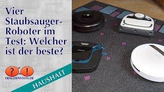 Vier Staubsauger-Roboter im Test: Welcher ist der beste?