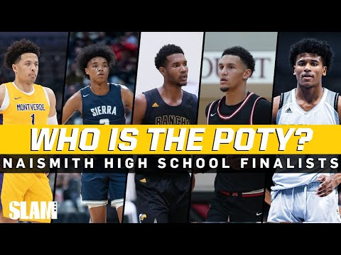 Who is YOUR High School Player of the Year⁉️ Naismith Award Finalists 🏆
