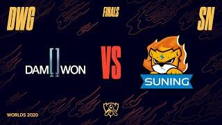 DWG vs. SN   Finals Game 1   World Championship   DAMWON Gaming vs. Suning (2020)