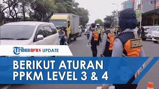 Mendagri Tito Ganti Istilah PPKM Darurat Jadi PPKM Level 4, Berikut Daftar Ketentuan Barunya