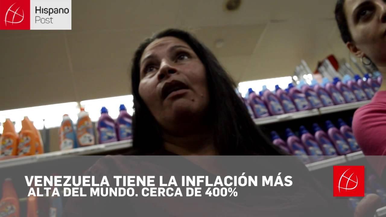 Cuatro horas de cola para comprar arroz y huevos en Venezuela