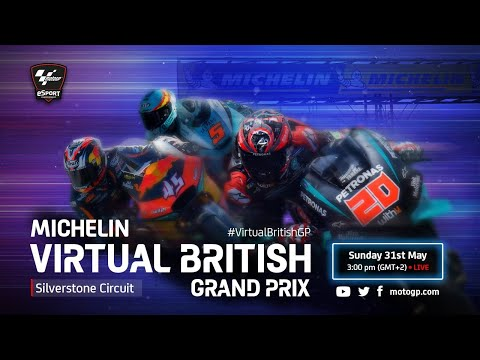 Esports MotoGPバーチャルレース 第5戦(イギリス)レースハイライト動画