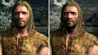 Skyrim Graphics Comparison: Nintendo Switch vs. Original vs. Remaster