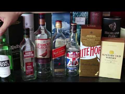 Рейтинг виски ценовой категории от 10$ до 20$