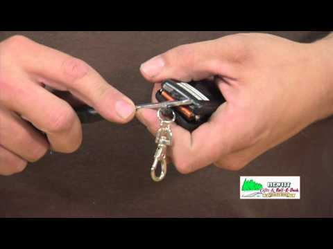 Replacing Battery in Black Key Fob