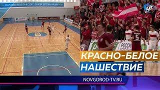 «Спартак» сразился с новгородским «Деловым партнером» в рамках первенства России по мини-футболу