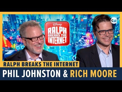 Phil Johnston and Rich Moore Talks 'Ralph Breaks the Internet'