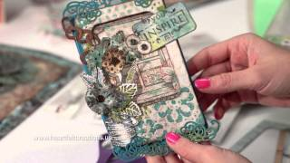 Create One of a Kind Shaped Cards and Washi Tape Embellishment