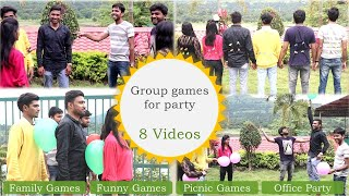 Group Games | 8 Picnic Games For Kids And Adults | Outdoor Games (2019)