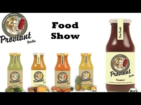 Proviant Smoothies und Limonaden - Food Show