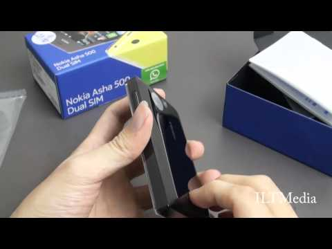 Nokia Asha 500 Dual - Unboxing