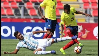 ECUADOR VS ARGENTINA 2-1 HEXAGONAL SUDAMERICANO SUB 20 CHILE 2019