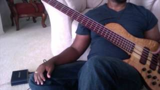 Anthony Brown and Group therapy - And you Never will (bass cover)
