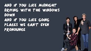 Perfect - One Direction (Lyrics)