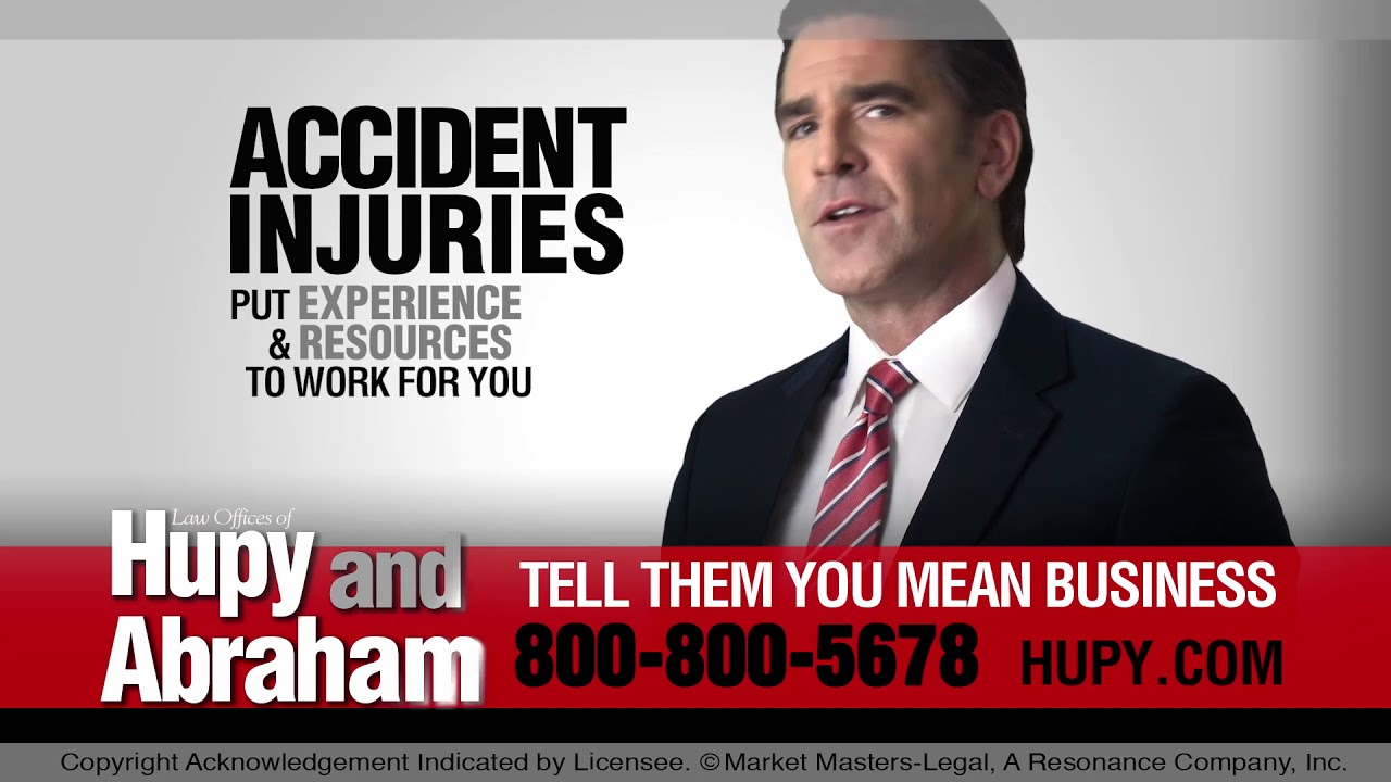 The Insurance Company Is Not Your Friend! Call Hupy and Abraham, S.C. After An Accident