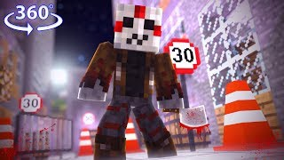 360° Friday The 13th - JASON THE SLAYER! - Minecraft 360° Roleplay