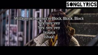 EUNIQUE   WILLKOMMEN IN MEINEM BLOCK Lyrics (SONGLYRICS)