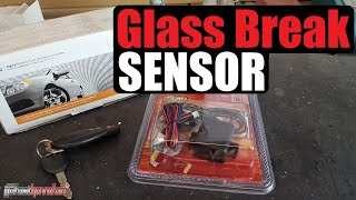 Glass Break Sensor (Directed Electronics 506T Audio Sensor) | AnthonyJ350
