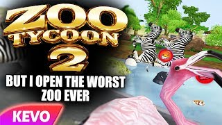 Zoo Tycoon 2 but I open the worst zoo ever