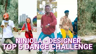 Niniola Designer Top 5 Dance Challenge JNAA