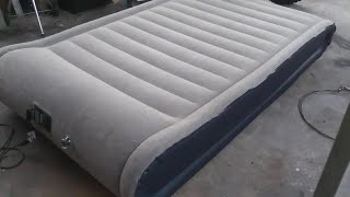 * Sable full size air mattress review unboxing