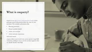 OS-Query Series?