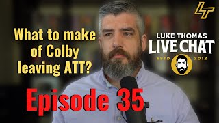 Woodley-Burns, Masvidal-Diaz 2, GOAT Debate, Colby-ATT | Live Chat, ep. 35 | Luke Thomas