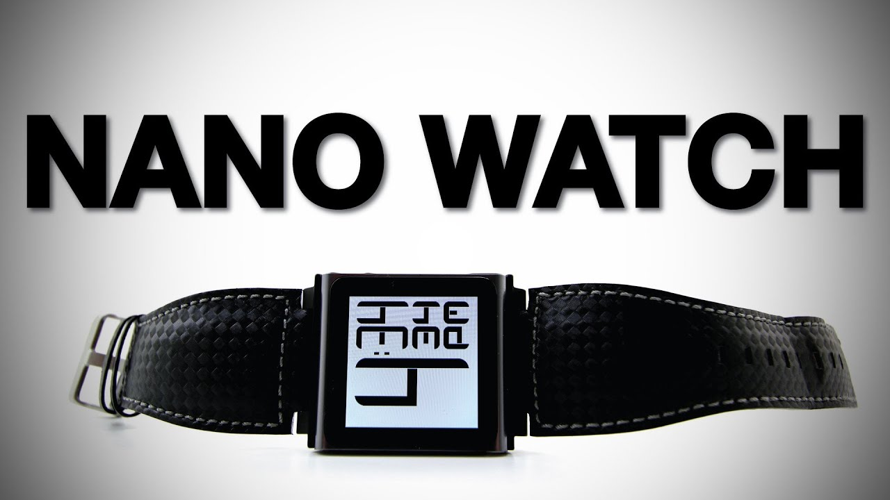 The New iPod Nano Watch Faces (iWatchz Carbon Unboxing & Review) thumbnail