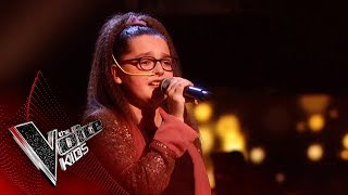 Chloe Performs 'Warrior' | The Semi Final | The Voice Kids UK 2019