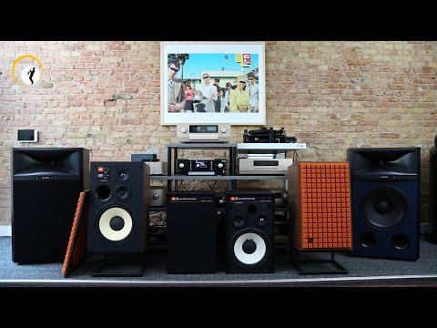 JBL Lautsprecher bei HiFi im Hinterhof - HiFi-Klassiker im neuen Gewand