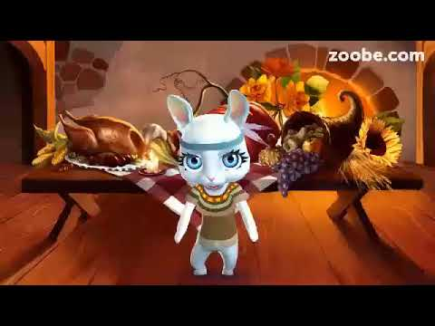 Zoobe Зайка- доброе поздравления с Пасхой