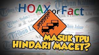Hoax or Fact: Pengendara Motor Lewati TPU Menteng Pulo untuk Hindari Kemacetan?