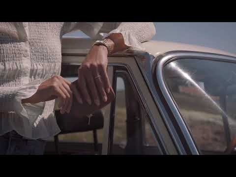 Renard Élégance watch gold/white