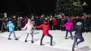 Открытие ледяного городка в Качканаре (с Новым 2019 годом!)