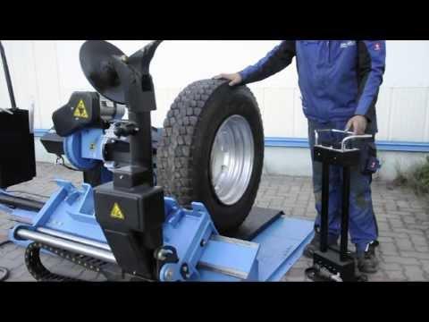 Vollautomatische LKW-Reifenmontagemaschine 14-56 Zoll von RP-TOOLS ® RP-U297P